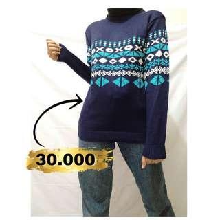 Sweater cewek murah   knit   turtle neck   cardigan   kardigan