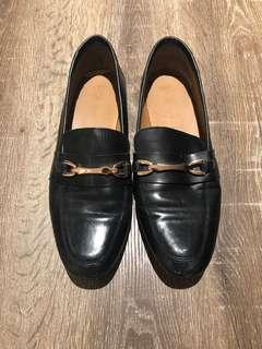 ASOS black leather Loafers