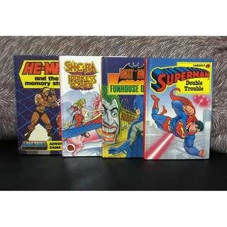 She-Ra, He-Man, Superman, Batman Lady Bird Book Lot