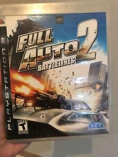 FULL AUTO 2 ps3