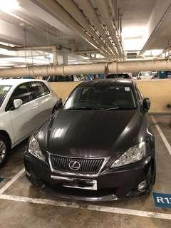 LEXUS IS250 2009