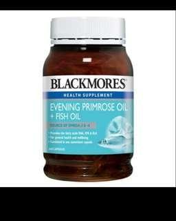 360 pills Blackmores Evening Primrose Oil + Fish Oil