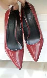 Janeo Red Heels Shoes