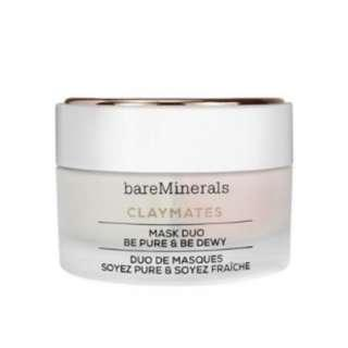 **bareMinerals** Claymates Be Pure & Be Dewy Mask Duo HK$320/58g