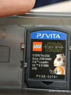 Lego Star wars the force awakens Sony ps vita game games cartridge no box psvita