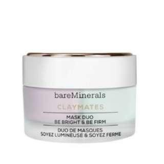 **bareMinerals** Claymates Be Bright & Be Firm Mask Duo  HK$320/58g