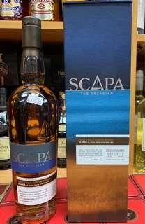 Scapa威士忌酒70cl