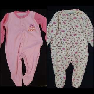 9-12mos Red Tag Baby Frogsuit Jumpsuit Sleepsuit