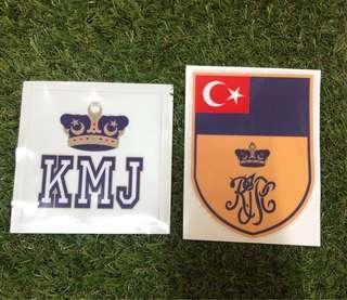Car Sticker Kembara Mahkota Johor KMJ