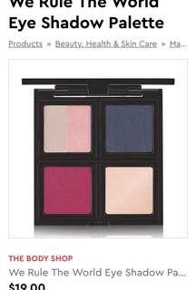 Body shop eyeshadow palette