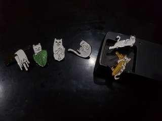 Enamel Pin Kucing