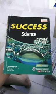 SUCCESS SCIENCE FORM 5 NEW 2016