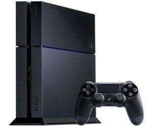 PS4 PlayStation 4 with two controllers