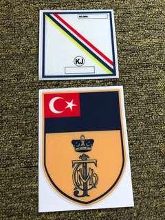 Car Sticker TMJ Kembara Mahkota Johor