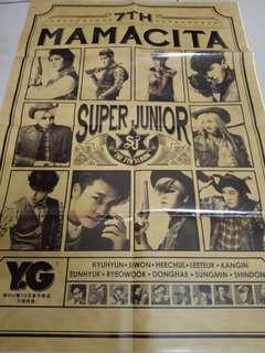 Super Junior Mamacita poster