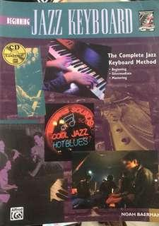 Jazz Keyboard  book with CD琴書