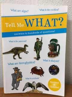 Tell me what? Not young Scientists magazine