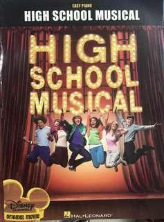 High School Musical for piano 琴書 with CD