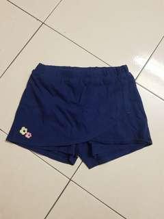 Miki kids Navy Skirt Short