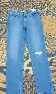 Authentic Levi's skinny ripe jeans