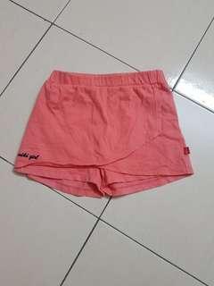 Miki orange skirt pants