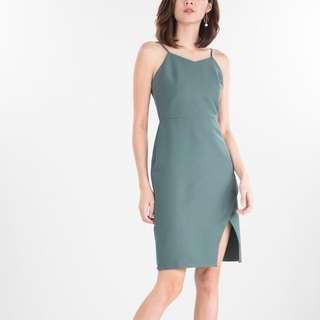 Ninth Collective - Zoella Dress in Green