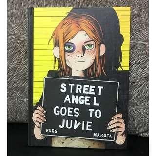 Street Angel: Street Angel Goes To Juvie Graphic Novel by Jim Rugg