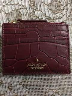 Authentic small cardholder wallet
