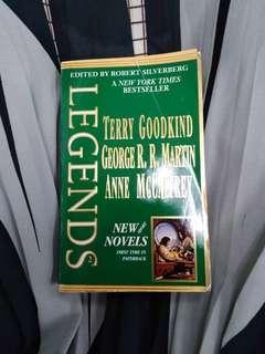 Legends (short novels) by Terry Goodkind, George R. R. Martin, Anne McCaffrey