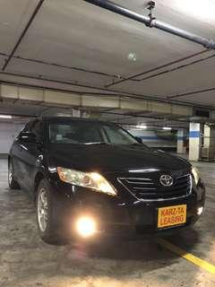 TOYOTA CAMRY! Promo Now! Petrol Saver Proven! 18% off petrol Card! Lowest Price! Can Drive Go-Jek/Grab/Ryde/Tada/Sixtnc! Flexible Rental Scheme! Personal User! Call Now!