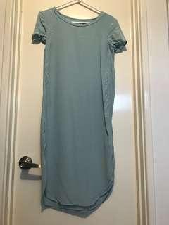 Loose midi dress