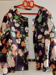 Floral Blazer / Coat