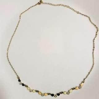 🚚 Instock necklace heart Headchain head chain headwear hair hijab accessory beautiful pretty elegant cute