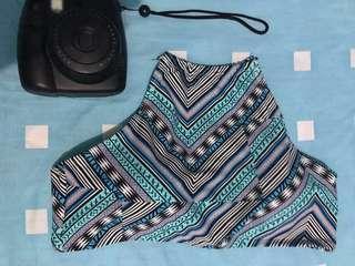 Aztec halter bikini top (padded)