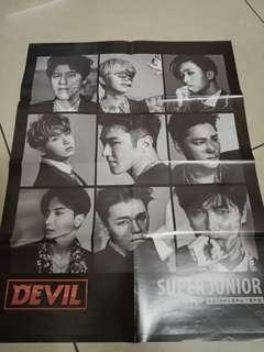 Super Junior Devil poster (2)