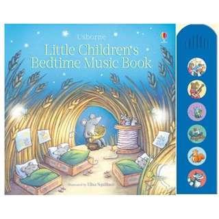 🚚 (BN) Usborne: Little children's bedtime music book