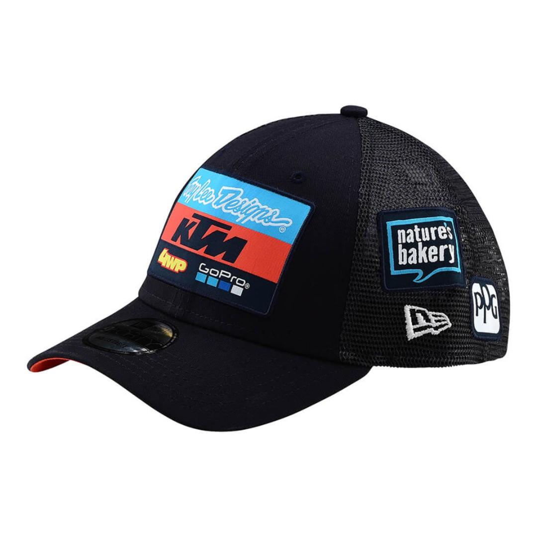 2019 KTM Troy Lee Designs New Era Curve Snapback Cap (Navy) 6952f2d3ac5