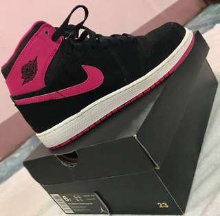 6453c7014c440 NIKE AIR JORDAN 1 RETRO HIGH (GG) VIVID PINK