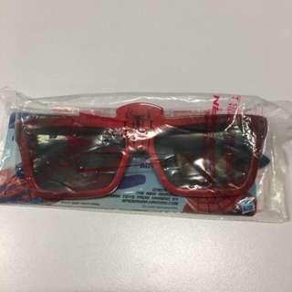 The Amazing Spider-man Real 3D Glasses 絕版蜘蛛俠3D眼鏡 (睇3D電影用) 包郵