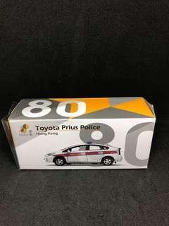 Tiny 80 toyota Prius Police 第一版(AM6583)