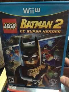 WiiU Game LEGO BATMAN 2 DC super heroes