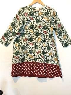 Dress Batik Saseti Batik Solo