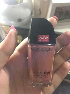 Wet & wild nail polish nude