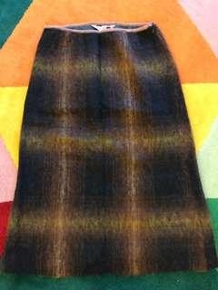New Penny Wool A-Line Skirt
