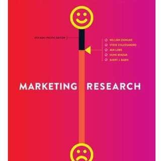Marketing Research Textbook - Murdoch University