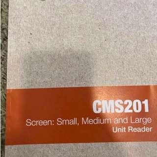 Screen (Small, Medium and big) Textbook - Murdoch University