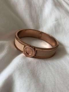 MIMCO rose gold blush bangle small