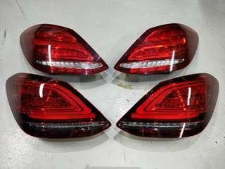 Mercedes W205 2019 Facelift LED Tail light for Retrofit on 2014-2018 C-Class.