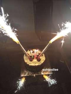 Birthday party sparkle