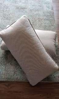 Long Back Cushions w/ Covers